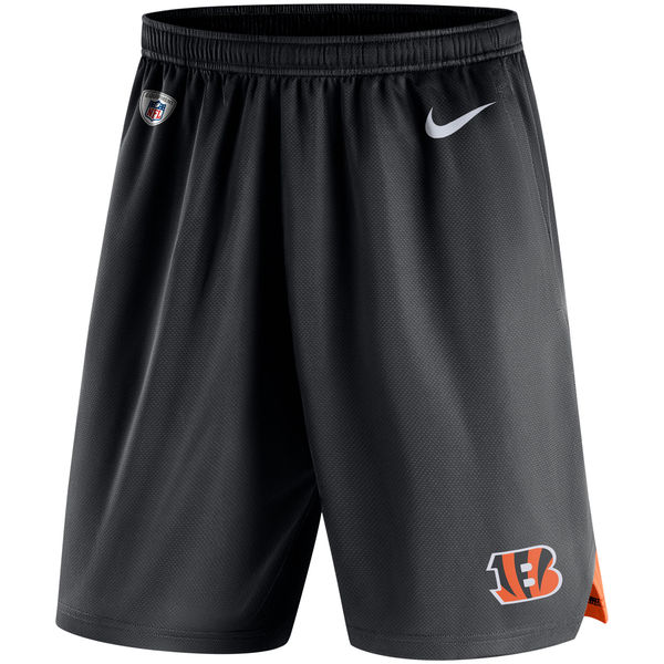 Men's Cincinnati Bengals Nike Black Knit Performance Shorts