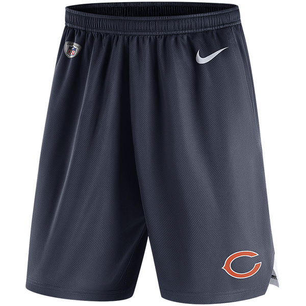Men's Chicago Bears Nike Navy Knit Performance Shorts