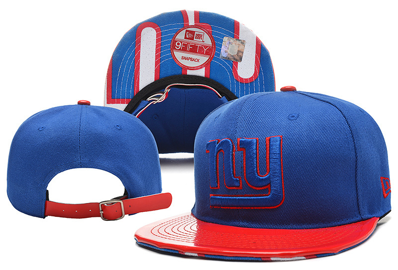 NFL New York Giants Stitched Snapback Hats 035