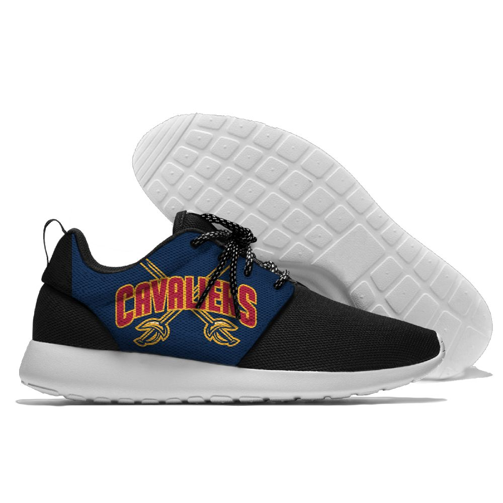 Women's NBA Cleveland Cavaliers Roshe Style Lightweight Running Shoes 003