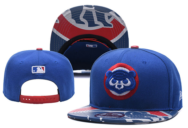 MLB Chicago Cubs Stitched Snapback Hats 003