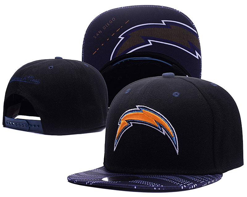 NFL Los Angeles Chargers Stitched Snapback Hats 004