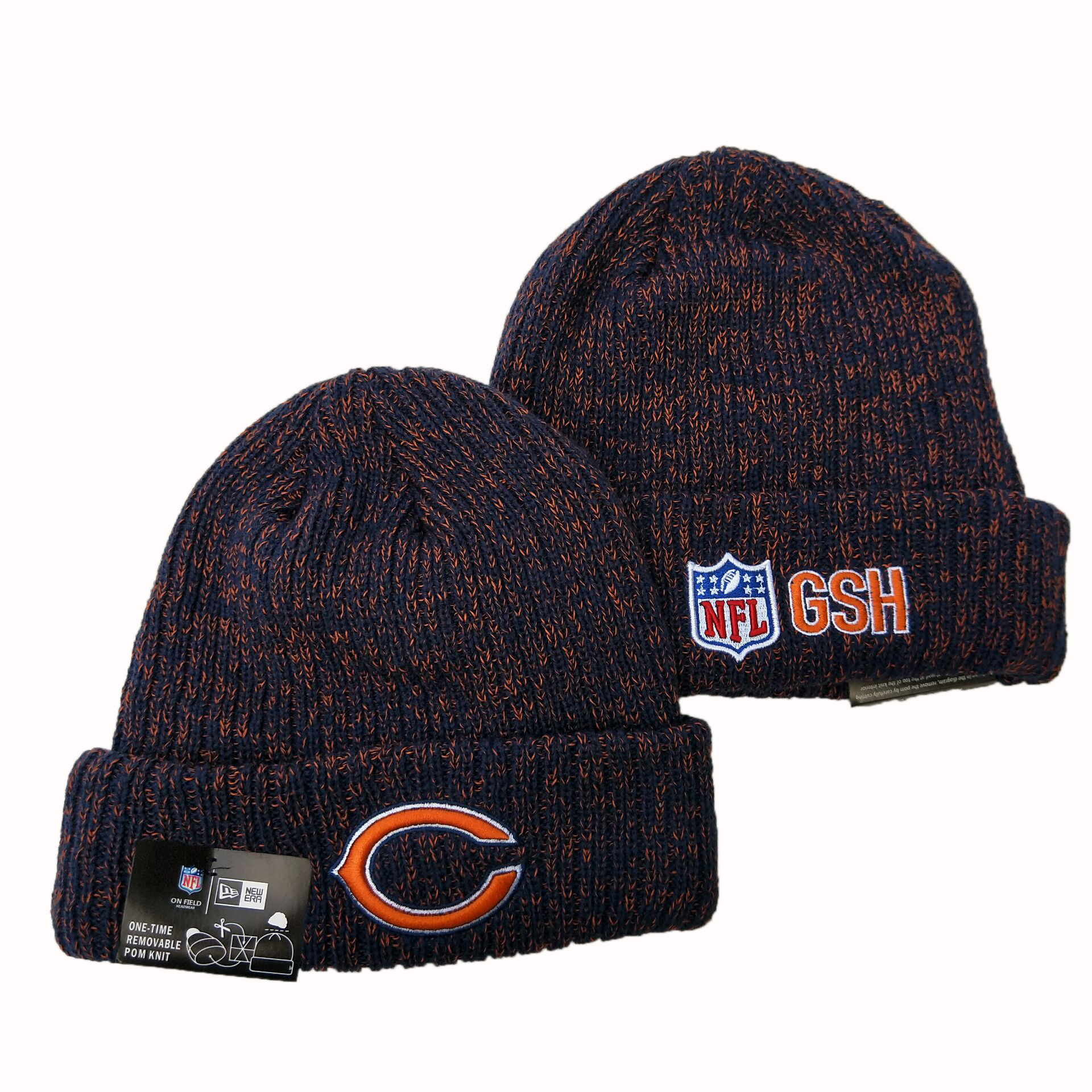 NFL Chicago Bears New Era 2019 Knit Hats 042