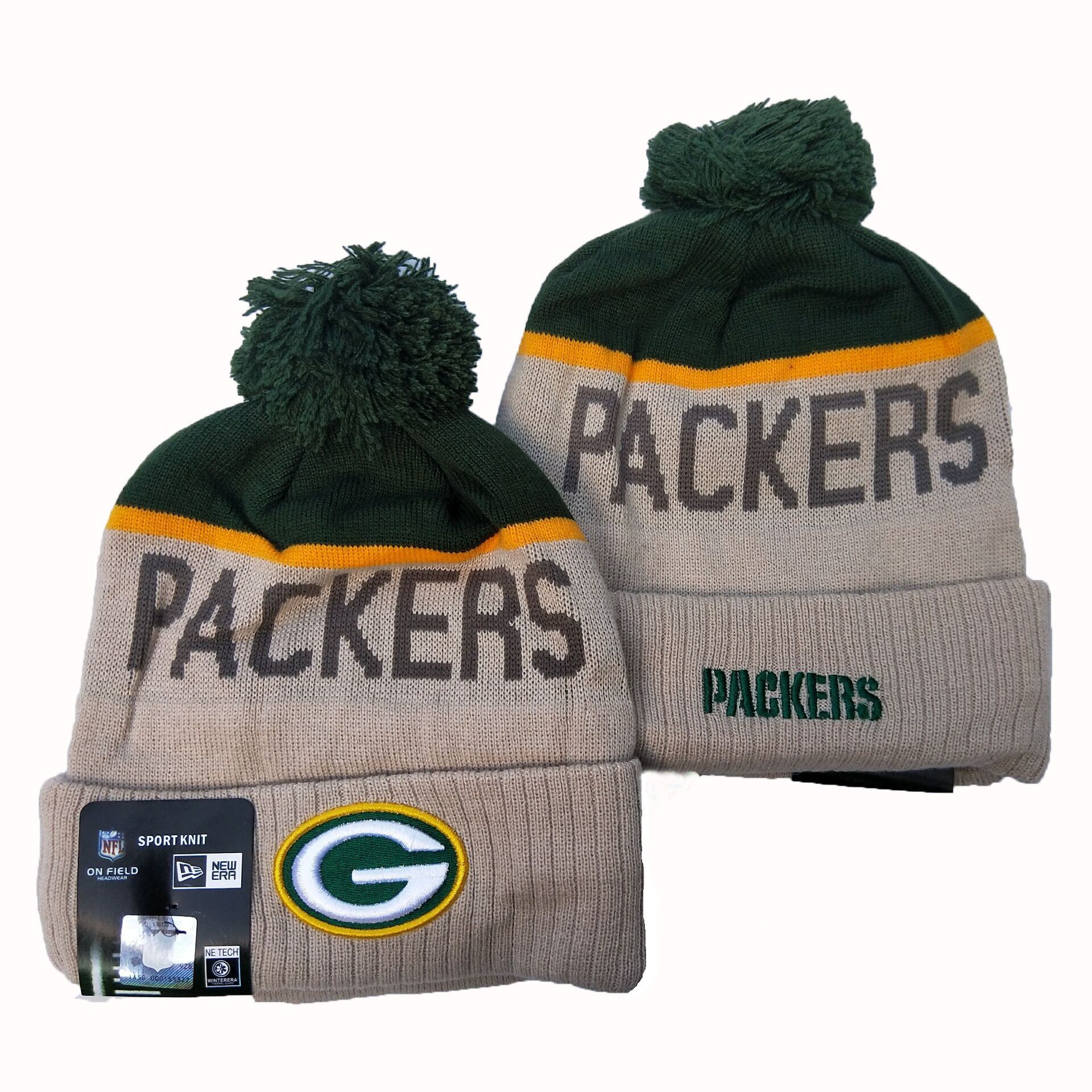 NFL Green Bay Packers New Era 2019 Knit Hats 058