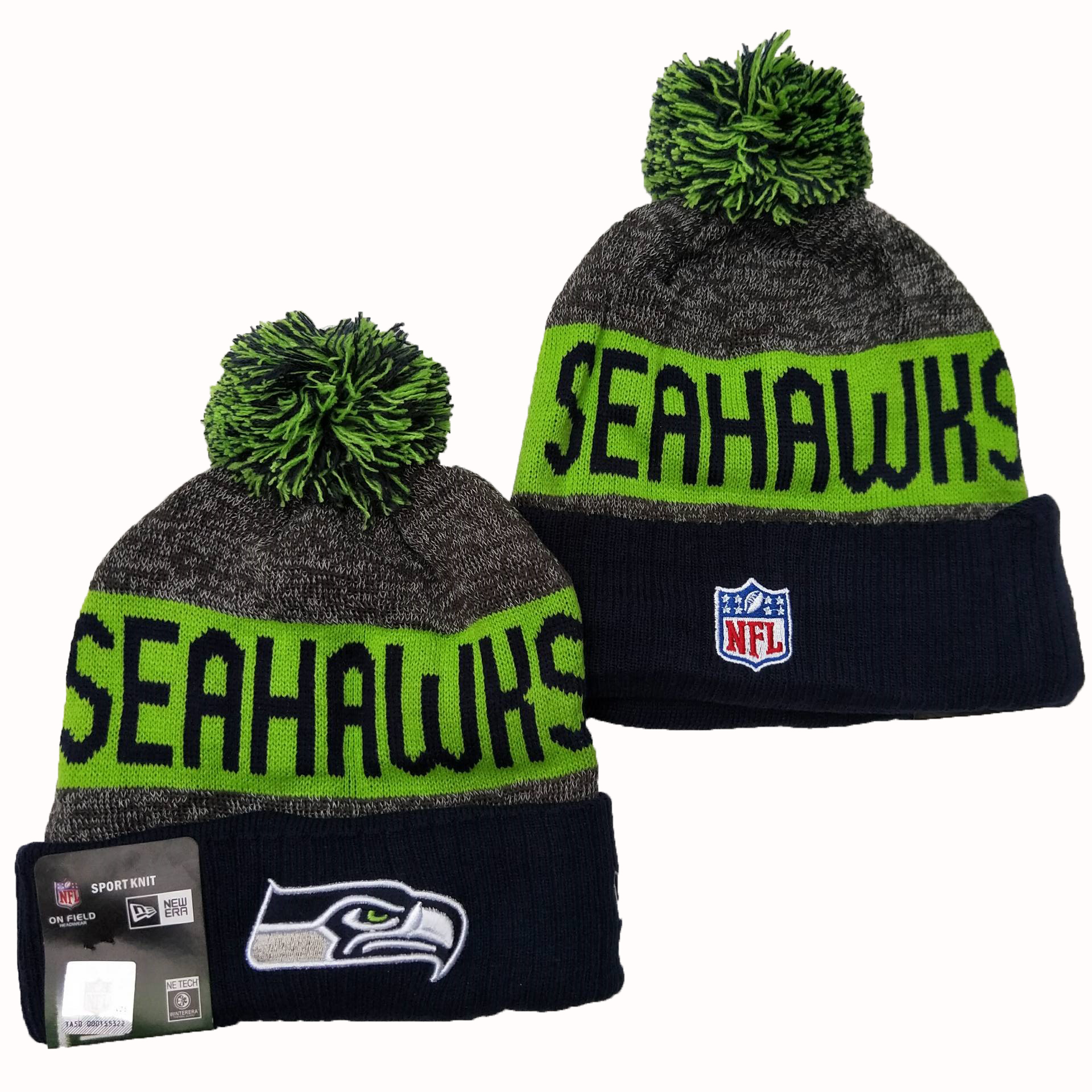 NFL Seattle Seahawks New Era 2019 Knit Hats 048