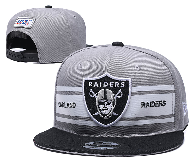 NFL Oakland Raiders Stitched Snapback Hats 021