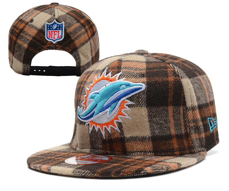 NFL Miami Dolphins Stitched Snapback Hats 011