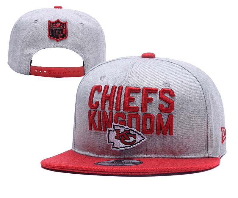 NFL Kansas City Chiefs Stitched Snapback Hats 010