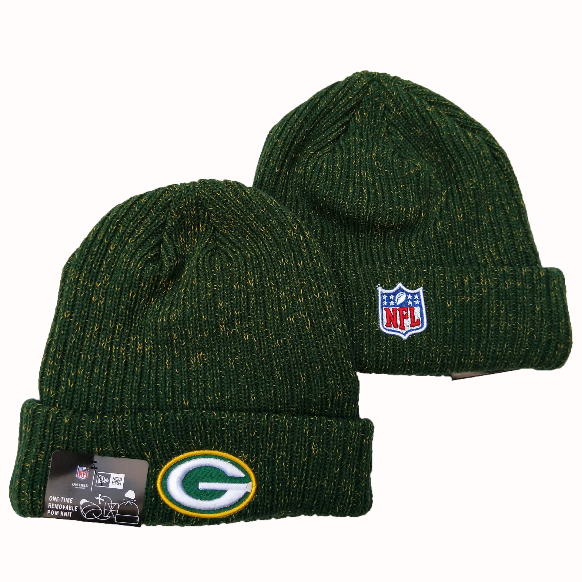 NFL Green Bay Packers New Era 2019 Knit Hats 051