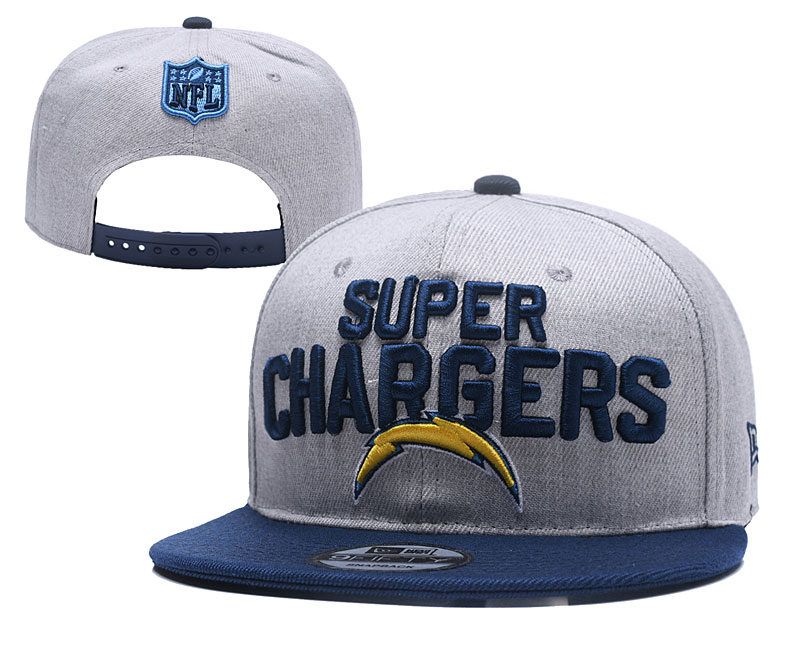 NFL Los Angeles Chargers Stitched Snapback Hats 002