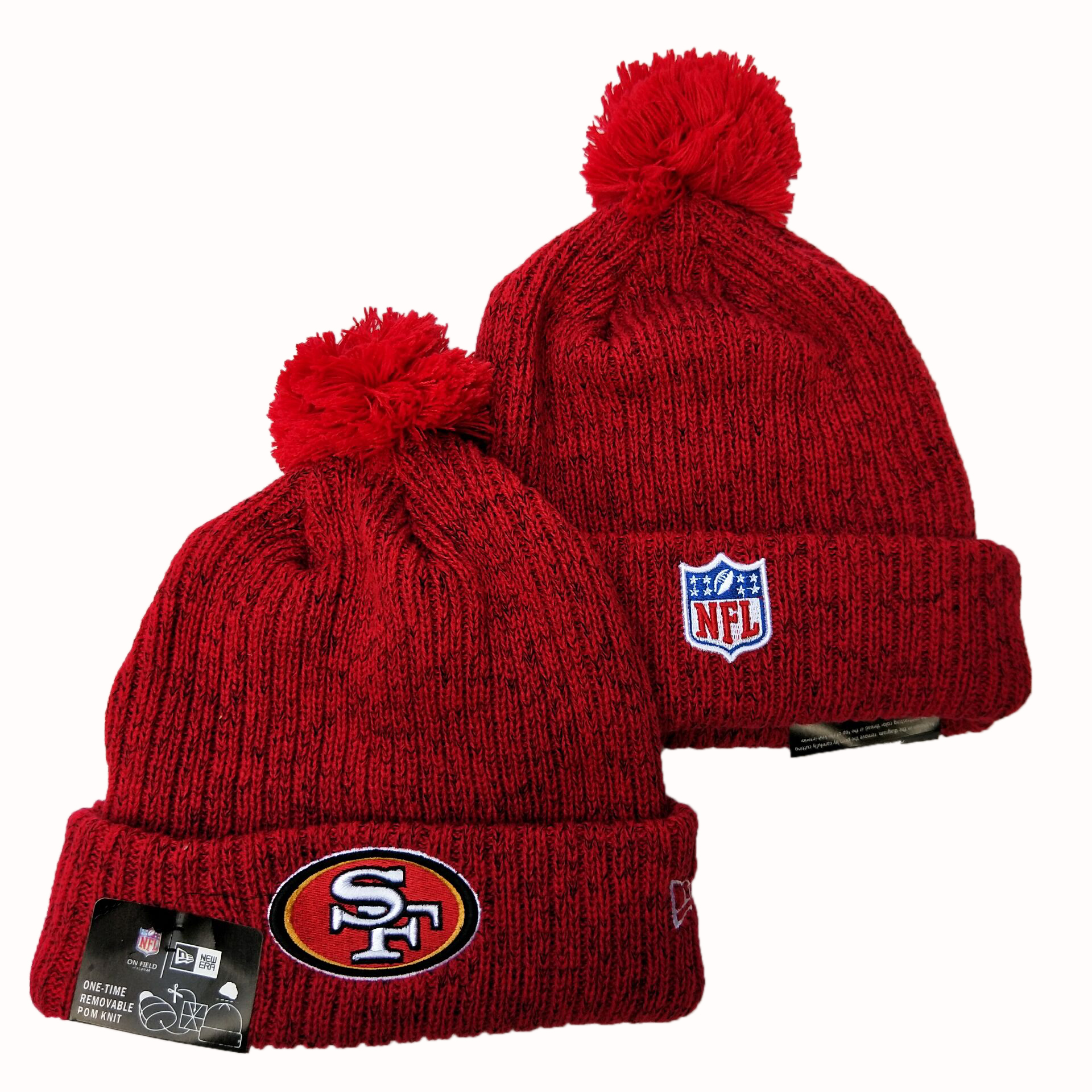NFL San Francisco 49ers New Era 2019 Knit Hats 066