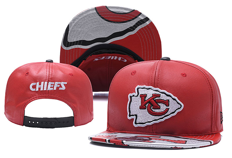 NFL Kansas City Chiefs Stitched Snapback Hats 008