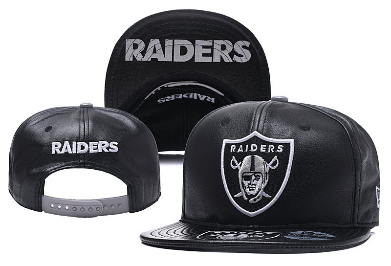 NFL Oakland Raiders Stitched Snapback Hats 005