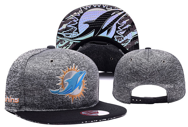 NFL Miami Dolphins Stitched Snapback Hats 008