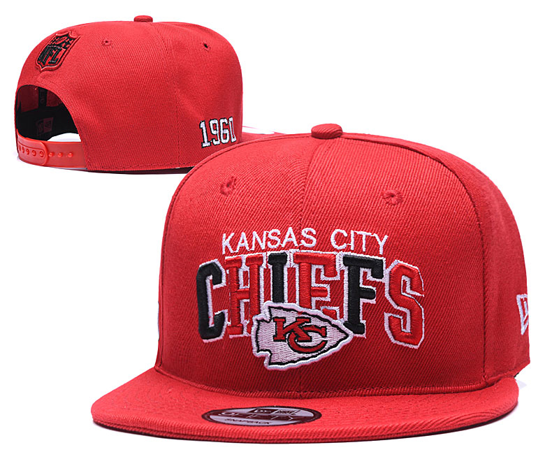NFL Kansas City Chiefs Stitched Snapback Hats 002