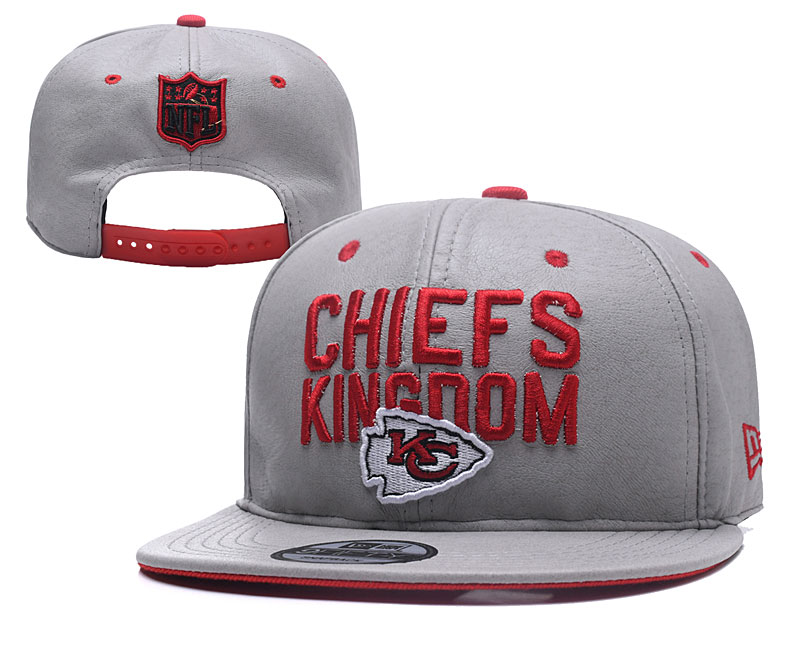 NFL Kansas City Chiefs Stitched Snapback Hats 009