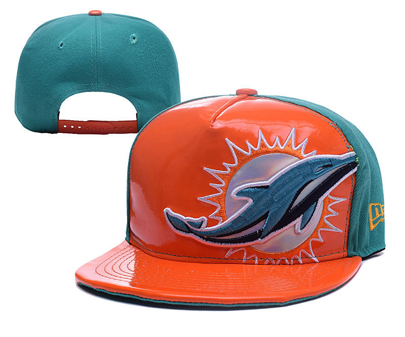 NFL Miami Dolphins Stitched Snapback Hats 005