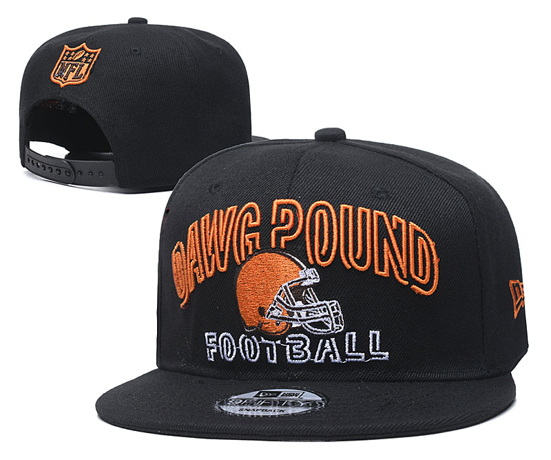Cleveland Browns Stitched Snapback Hats 010