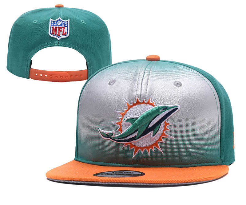 NFL Miami Dolphins Stitched Snapback Hats 002