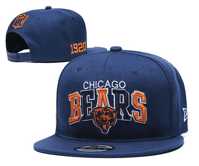 NFL Chicago Bears Stitched Snapback Hats 004