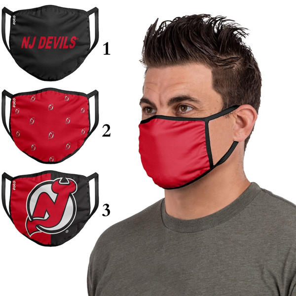 New Jersey Devils Sports Face Mask 001 Filter Pm2.5 (Pls Check Description For Details)