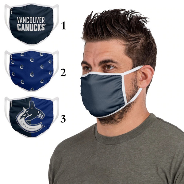 Vancouver Canucks Sports Face Mask 001 Filter Pm2.5 (Pls Check Description For Details)