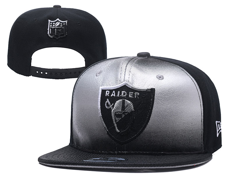 NFL Oakland Raiders Stitched Snapback Hats 007
