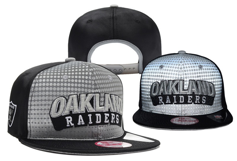 NFL Oakland Raiders Stitched Snapback Hats 014