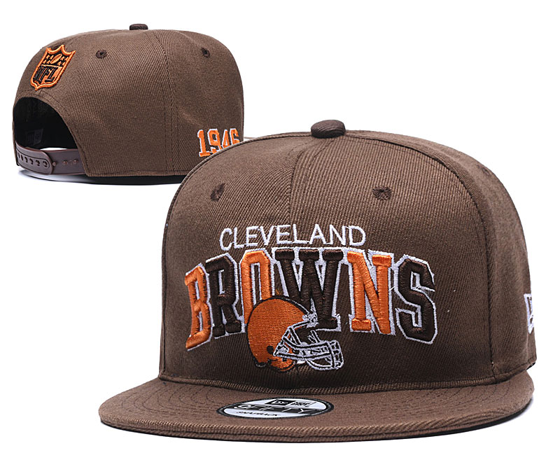 NFL Cleveland Browns Stitched Snapback Hats 002