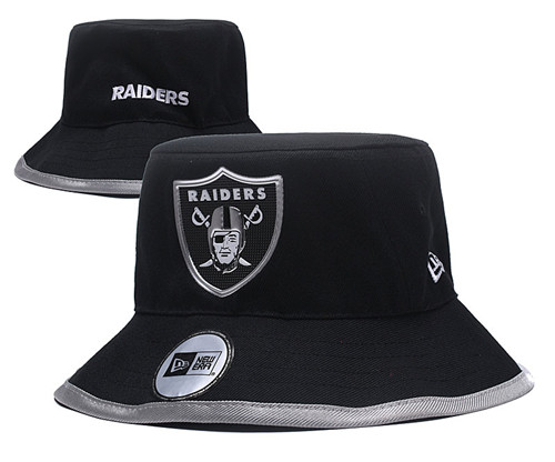 NFL Oakland Raiders Stitched Bucket Fisherman Hats 025