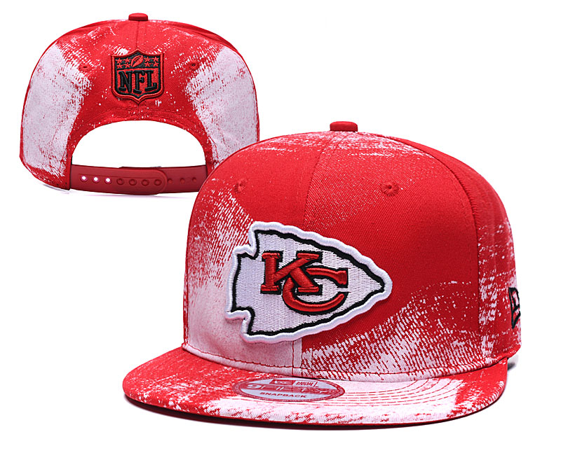 NFL Kansas City Chiefs Stitched Snapback Hats 003