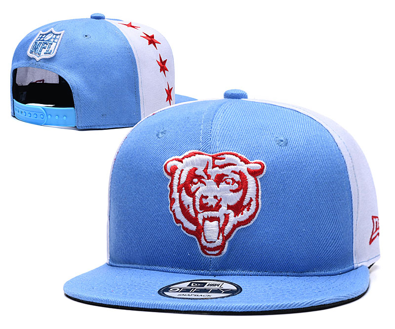 NFL Chicago Bears Stitched Snapback Hats 007
