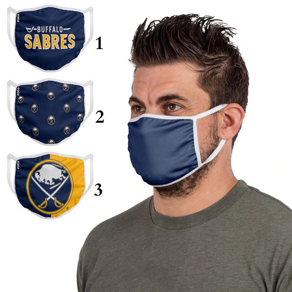Buffalo Sabres Sports Face Mask 001 Filter Pm2.5 (Pls Check Description For Details)