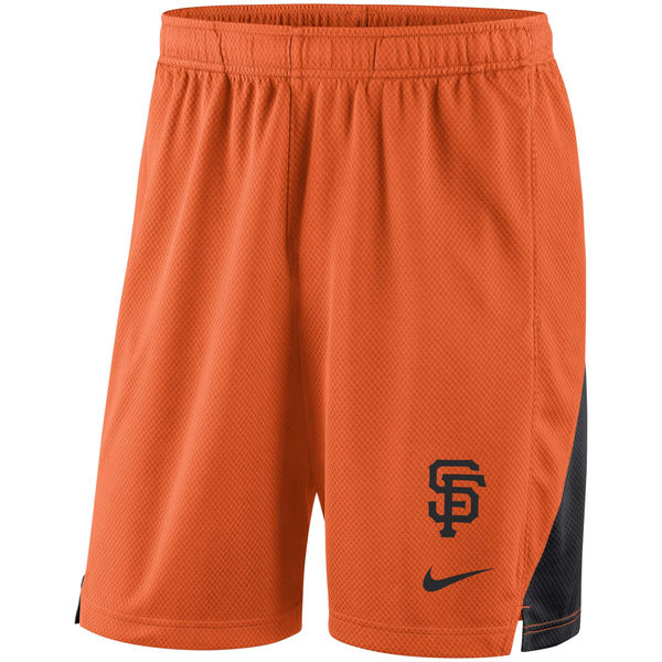 Men's San Francisco Giants Orange Franchise Performance Shorts