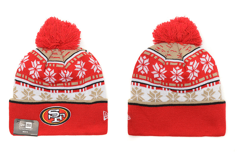 NFL San Francisco 49ers Stitched Knit hats 016