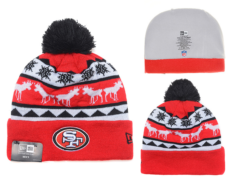 NFL San Francisco 49ers Stitched Knit hats 020