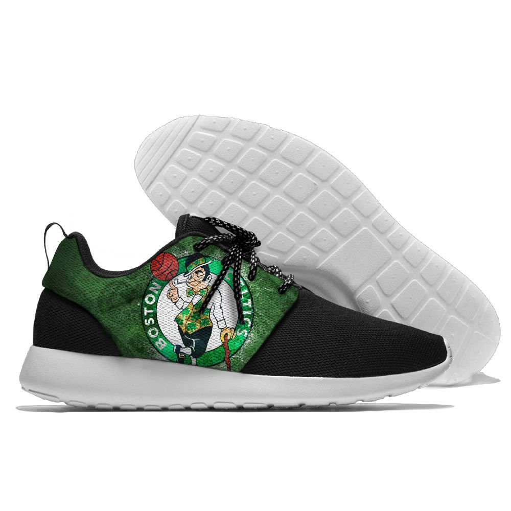 Men's NBA Boston Celtics Roshe Style Lightweight Running Shoes 004