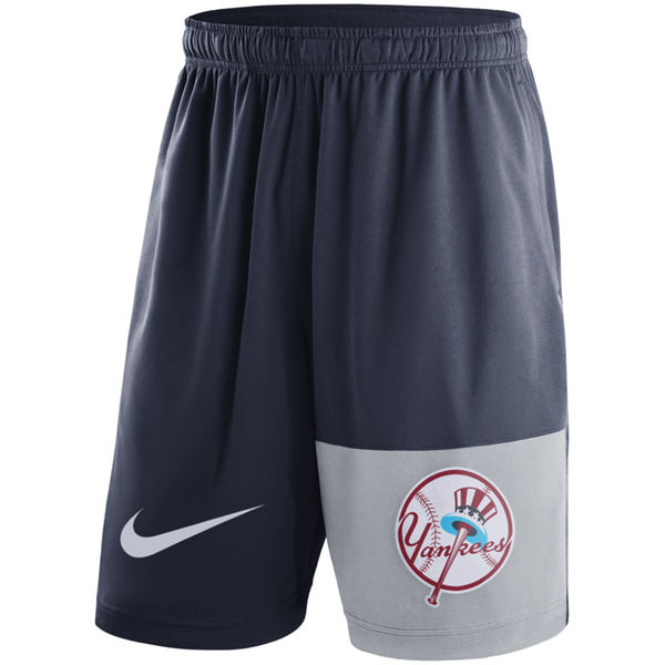 Men's New York Yankees Nike Navy Cooperstown Collection Dry Fly Shorts