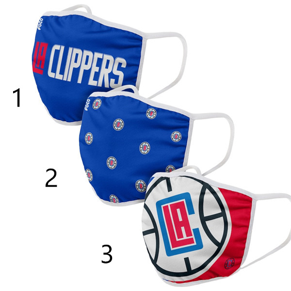 Los Angeles Clippers Face Mask 29053 Filter Pm2.5 (Pls check description for details)