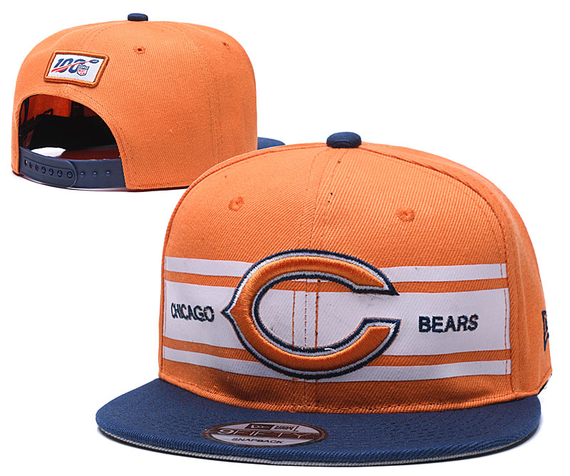 NFL Chicago Bears Stitched Snapback Hats 045