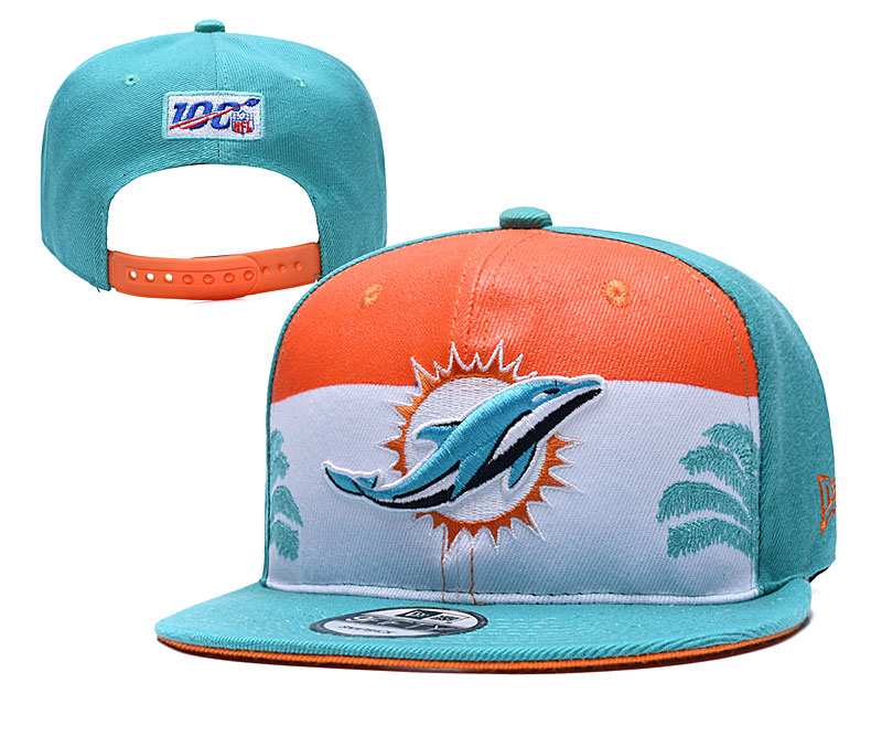 NFL Miami Dolphins Stitched Snapback Hats 029