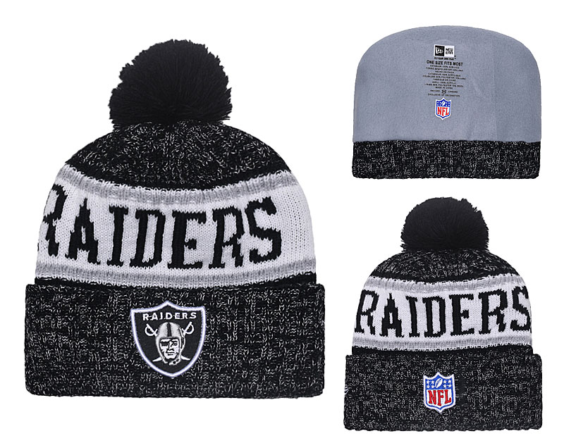 NFL Oakland Raiders Stitched Knit Hats 044