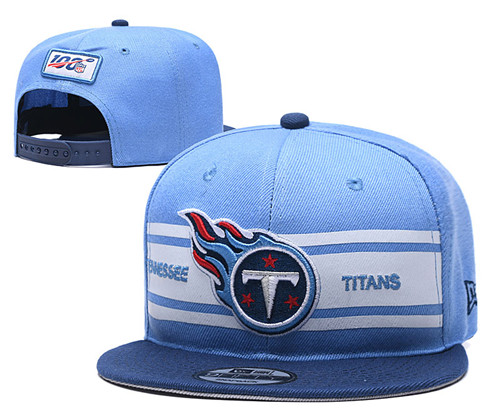 NFL Tennessee Titans 2019 100th Season Stitched Snapback Hats 013
