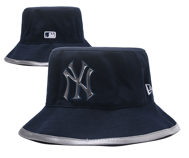 MLB New York Yankees Stitched Snapback Hats 064