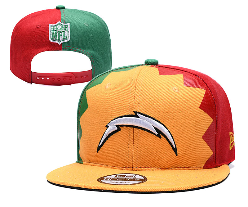 NFL Los Angeles Chargers Stitched Snapback Hats 019