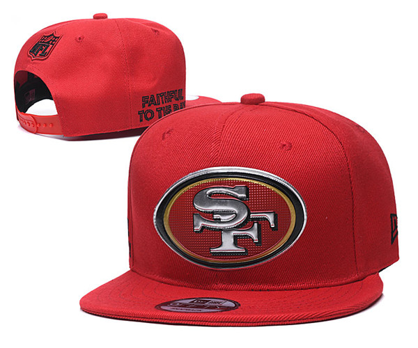 San Francisco 49ers Stitched Snapback Hats 004
