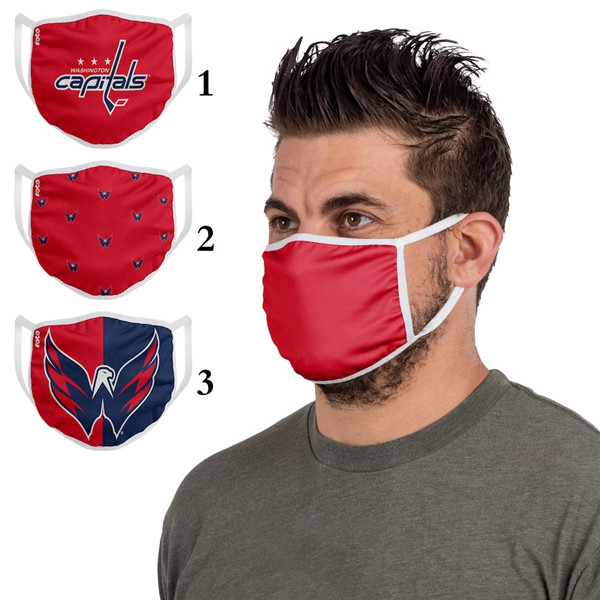 Washington Capitals Sports Face Mask 001 Filter Pm2.5 (Pls Check Description For Details)
