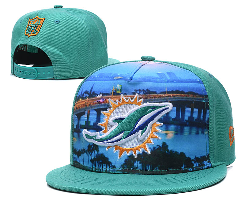 NFL Miami Dolphins Stitched Snapback Hats 003