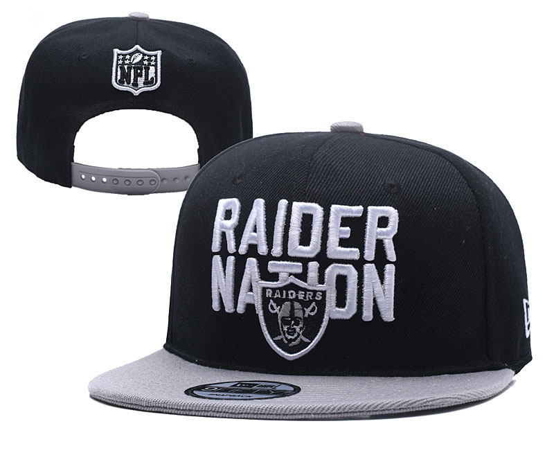 NFL Oakland Raiders Stitched Snapback Hats 039