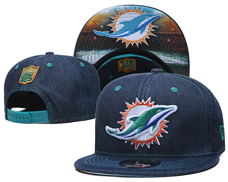NFL Miami Dolphins Stitched Snapback Hats 004